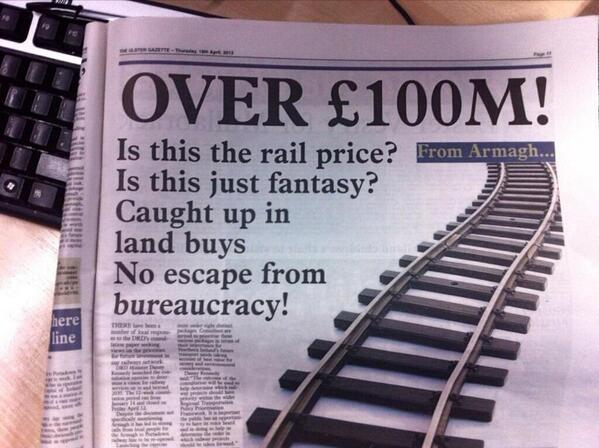 Best newspaper headline ever. http://t.co/M1Jd0r88dD