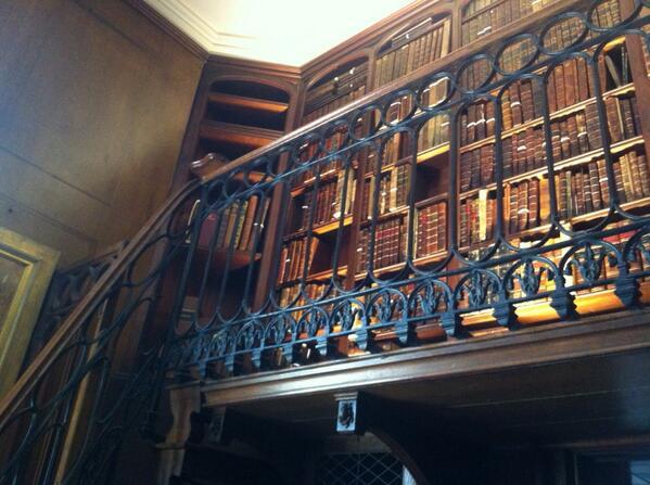 Scott's library #ihbctweet http://t.co/Acqhy4CC5E