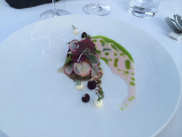 Schlössl Oberotterbach radmila kless horvat on tasting menu a wonderful evening