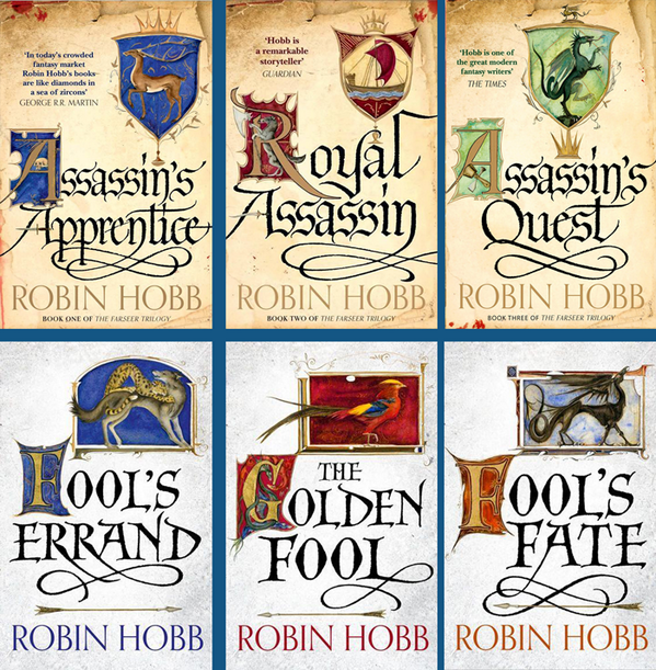 Image result for robin hobbs book covers