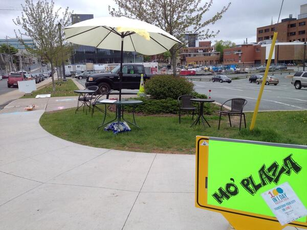 @100in1dayHFX  Lots of good conversations with the community about #MoPlaza @PPS_Placemaking @PlanningDesign http://t.co/VG6AZlEgAj