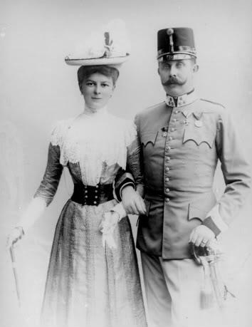 @ArchdukeFranzi Your trip will be a lovely informal visit. You can take @Duchess_Sophie #KU_WWI #WhySarajevo http://t.co/0C64ufsF5h