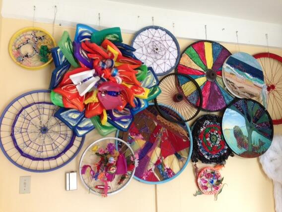 Art Bikers wall of wheels - drop by for an artistic afternoon 5663,Cornwallis St #100in1DayHFX http://t.co/0kywaa1eRe