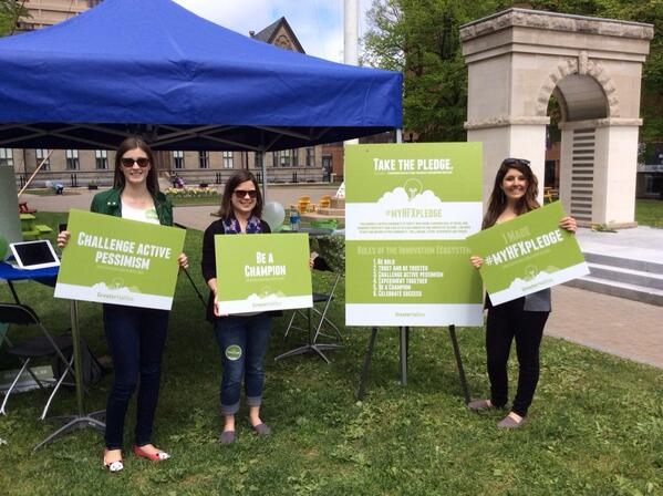 Great time today as part of @100in1dayHFX. 57 people committed to make positive change with the #myHFXpledge http://t.co/FZHAFqLyjp