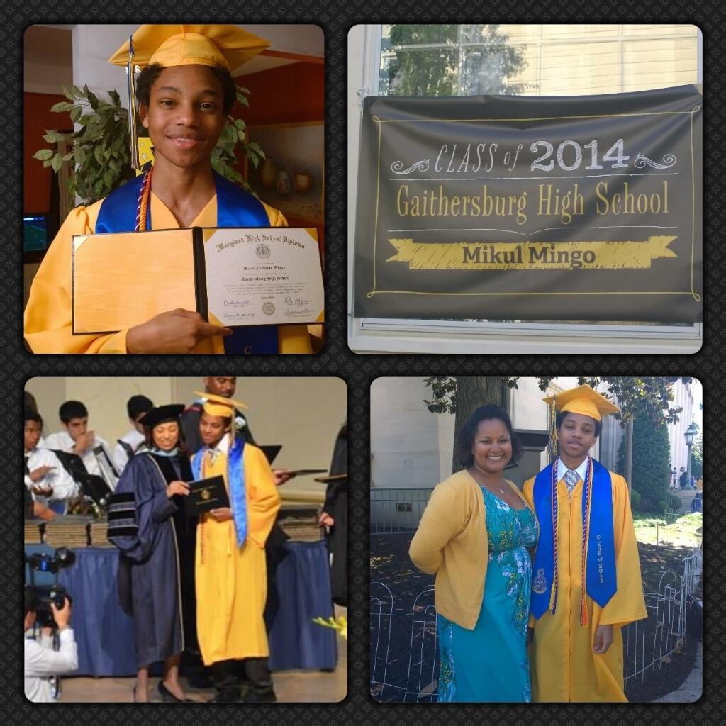 Twitter / MonyelleMingo: Here's our graduate! 🎓 ...