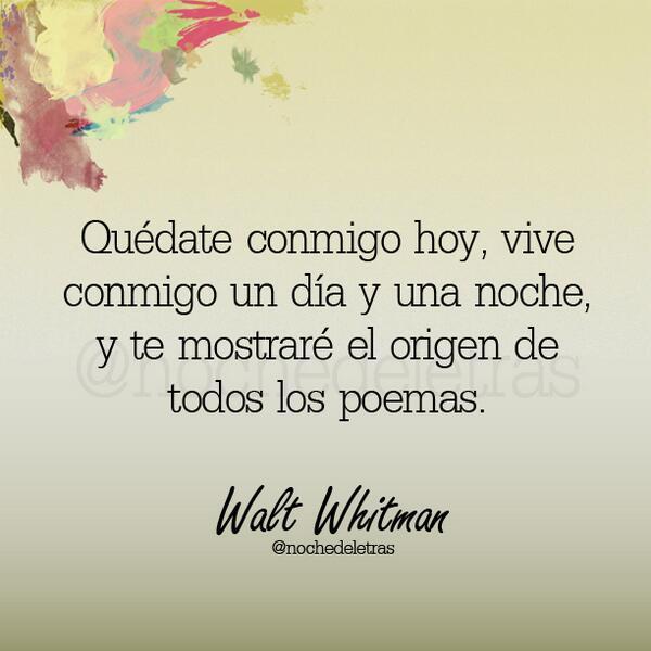 Noche De Las Letras On Twitter Quédate Conmigo Y Te