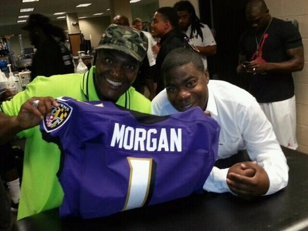 Tracy Morgan and James 'Jimmy Mack' McNair