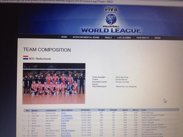 Wat zien de #langemannen er Koreaans uit op de teamfoto op http://t.co/ntpBnP3xOE @volleybalnl http://t.co/1GFr9J4wvU