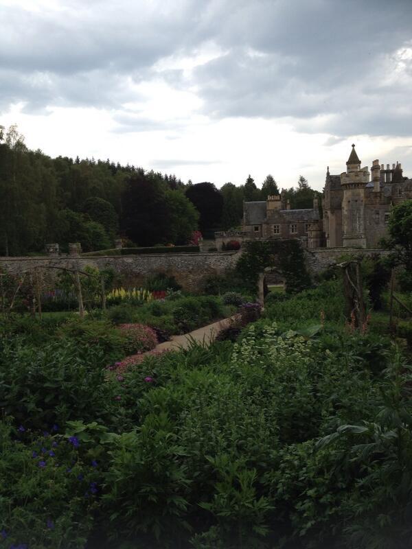 Abbotsford walled garden #ihbctweet http://t.co/gPr0CeP66j