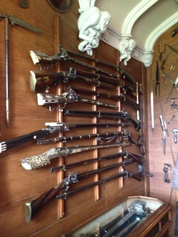 Rob Roys gun at Abbotsford #ihbctweet http://t.co/NiqQAUCvaQ
