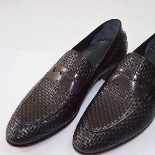 Maglieriapelle On Twitter Erkek Klasik örgü Deri Ayakkabı