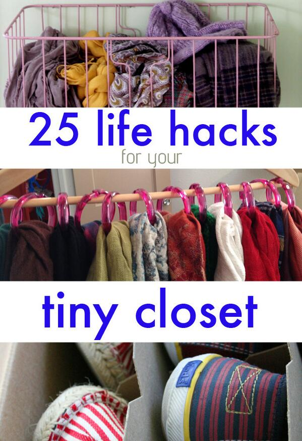 Buzzfeed Diy On Twitter No Closet Space No Problem Http T Co