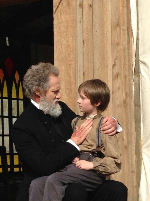 In Hell w/Young Sapling once again #talktoyourbishop such a pleasure @tayden_marks u r a blessing @HellOnWheelsAMC http://t.co/jdP1Nv9iQk