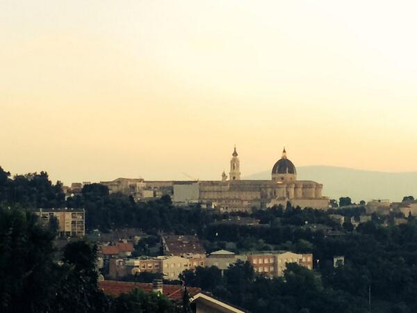 Eccola #MacerataLoreto14 http://t.co/dHNKHxvwK2