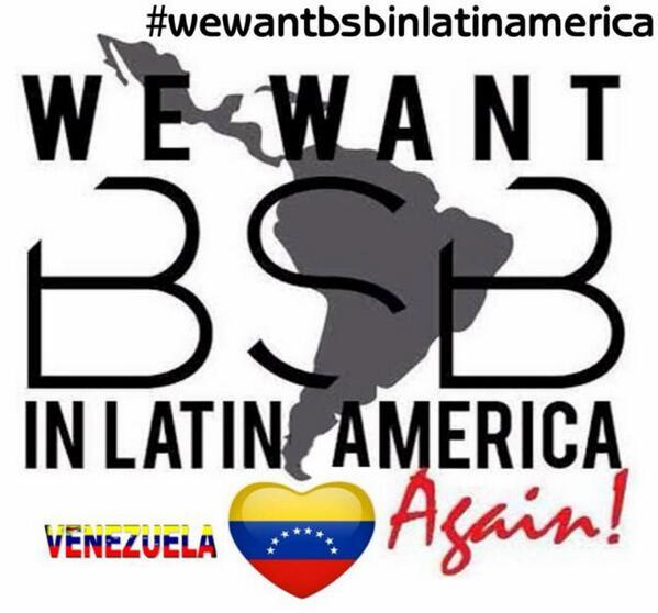 Porque son nuestro estilo de vida @backstreetboys #wewantbsbinlatinamerica @profiteventos http://t.co/LnaFGT43sa