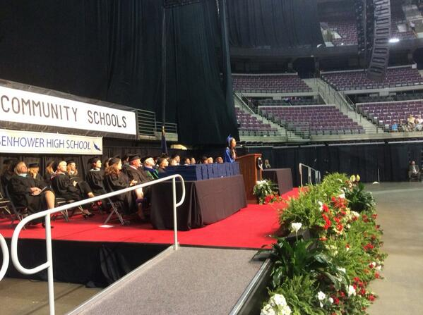 a commencement address The commencement ceremony affirms each student's search for knowledge it often includes a speech that seeks to put their recent hard (or not so hard) work into the context of their future.