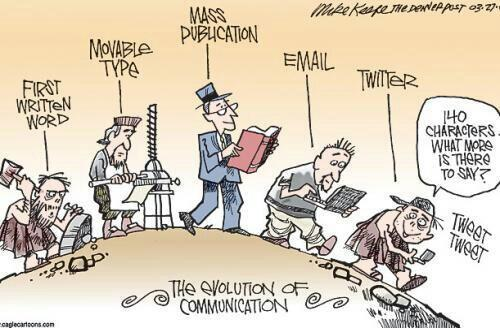 @calestous: Evolution of communication - http://t.co/8FeW9cM9H6