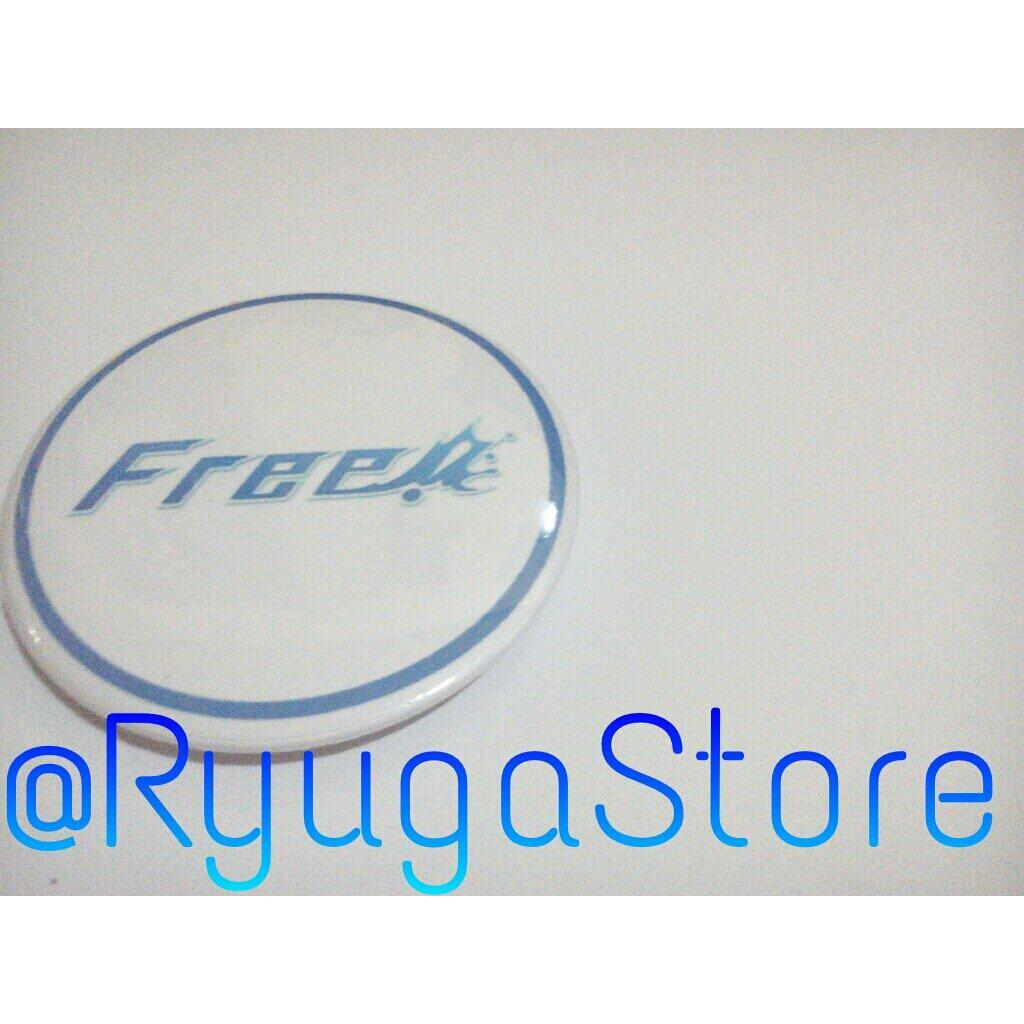 [*] Contoh Pin: Logo Free! Iwatobi. IDR @ 5rb/pc. Order/ mau tanya2? 081216447740/ 7994FE0B. http://t.co/GnIwHWsGD1