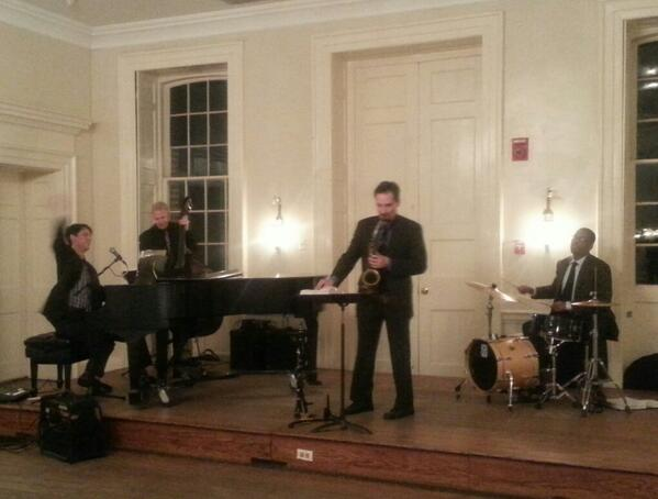 Loving this excellent swing band at #SJCALF2014  TY @stjohnscollege ! #BringsBackMemories http://t.co/aWTWA5aD0P