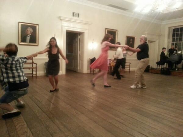 Swing dancing! #SJCALF2014 (@ SJC - McDowell Hall) http://t.co/Grj9BSs4el http://t.co/mglUsXmUa0