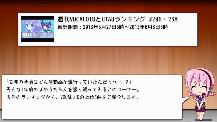 週刊VOCALOIDとUTAUランキング 348・290 [Vocaloid Weekly Rank 348] BplKRS_CEAAr4s2