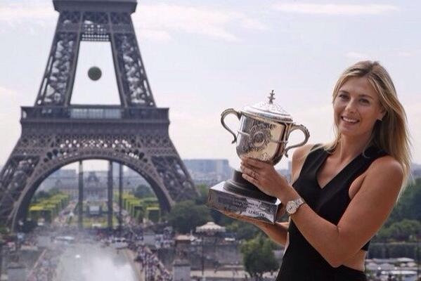 I've never felt more in love than now.... #Sharapova http://t.co/A6agYhTg9U