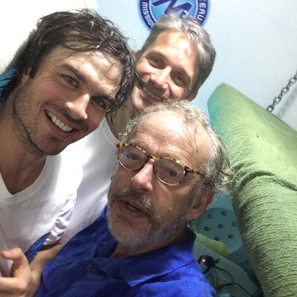 Tight but awesome having @iansomerhalder & @GregStoneCI down at Aquarius visiting @Mission_31 today http://t.co/U5a0z30oS2