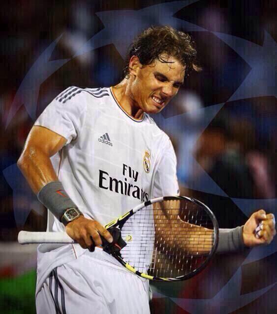 Leonrm Auf Twitter Granderafa Graciasrafa Rafa Nadal Estirpe Espanola Caballero Madridista Http T Co Owywdf7k8u