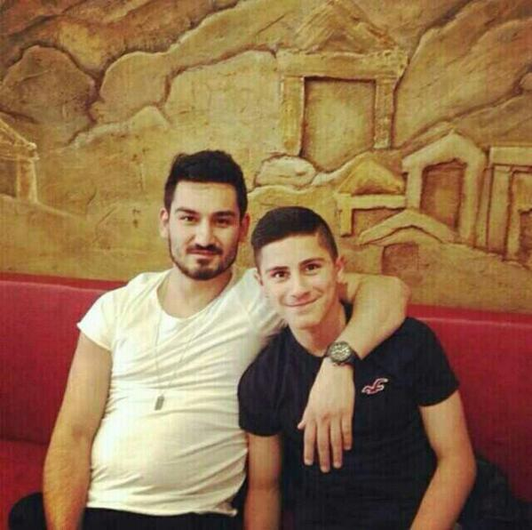 WOAH: Borussia Dortmund midfielder Ilkay Gündogan has piled on the pounds since getting injured