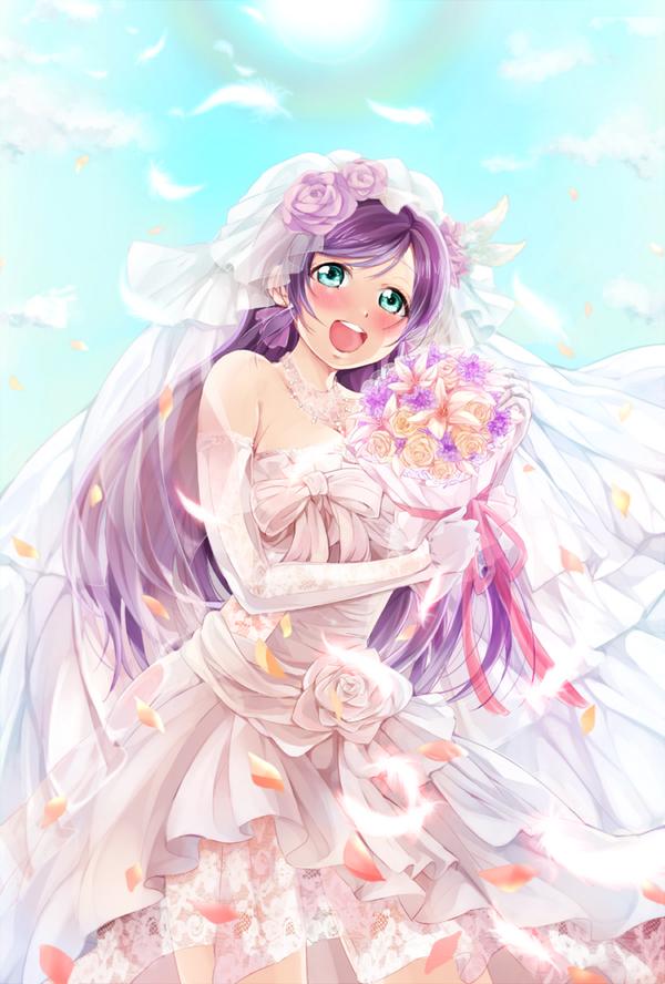 お誕生日おめでとうございます結婚した #東條希生誕祭 pic.twitter.com/EXtR5GwAYY