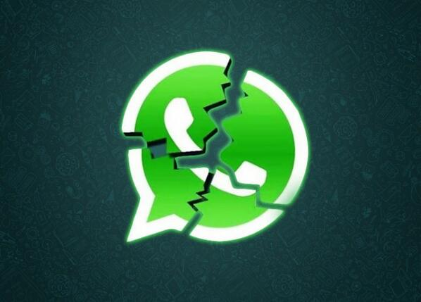 WhatsApp caído a nivel mundial. La aplicación de mensajería no funciona http://t.co/bcGAnpErPq http://t.co/dq2VgvGHRY