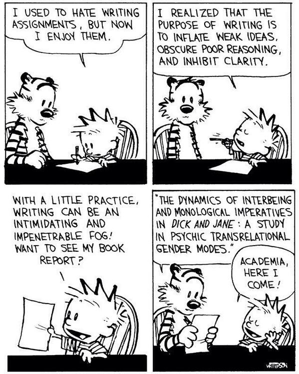 cartoons about writing
