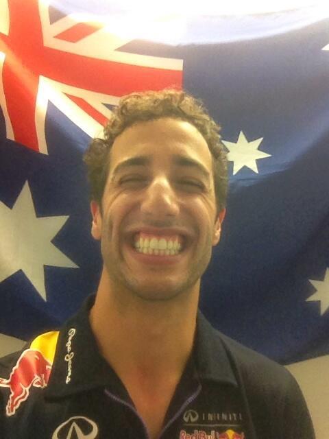 Foto Daniel Ricciardo (Red Bull Formula 1)