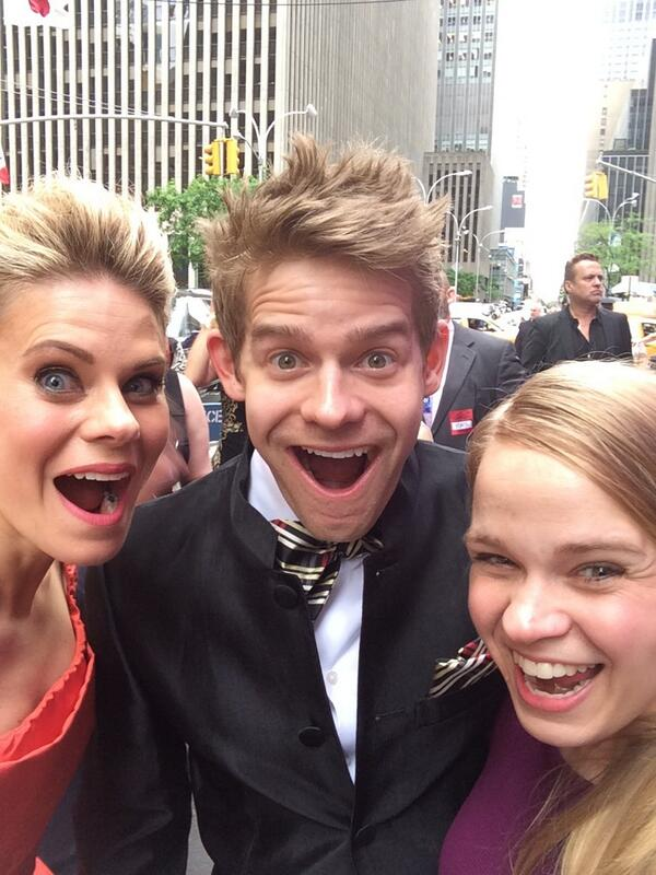 The Keenan-Bolgers are here! #TonyAwards http://t.co/irHVu79dey