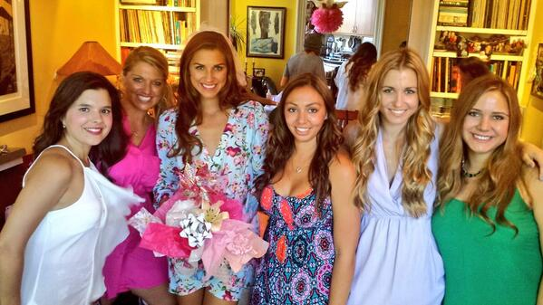 alex morgan on twitter bridal shower hosted by my bridesmaids such an amazing day so thankful to have these girls in my life httptcohfnxzgyzpz