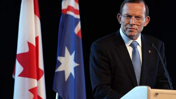 #Canadia trends on Twitter after gaffe by Tony Abbott http://t.co/sFaUoLZBzo http://t.co/bzEEocuy6Z