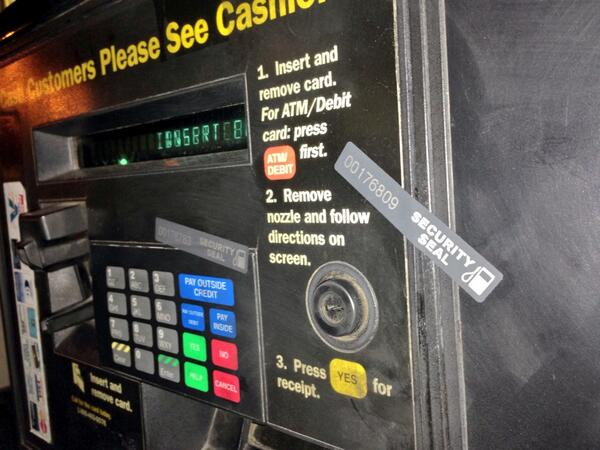 Have You Seen These Security Seals On Gas Station Pumps