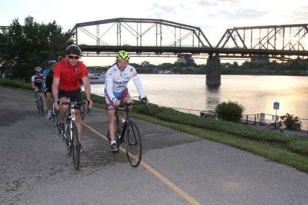 Just finished a beautiful morning ride in Ottawa with members of the @rcmpgrcpolice #RCMP http://t.co/kWWO7far5A