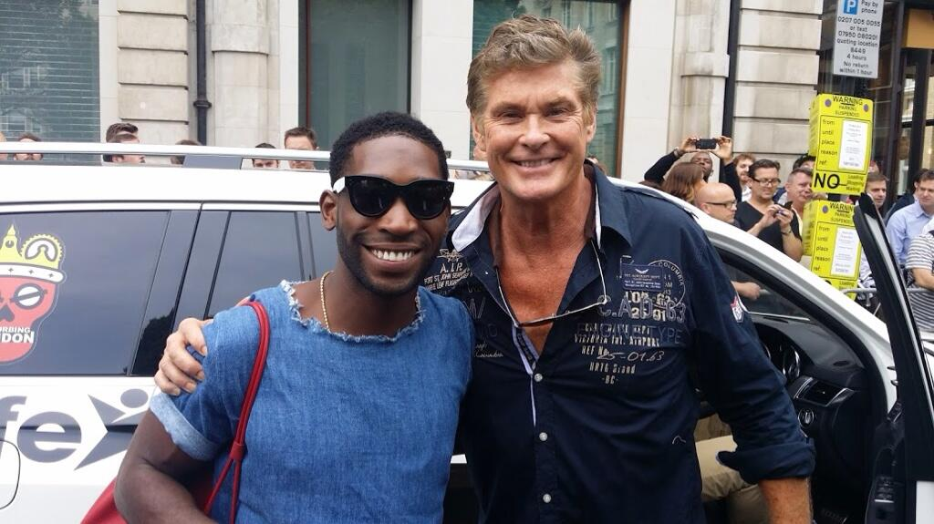 Twitter / DavidHasselhoff: Great to see my friend ...