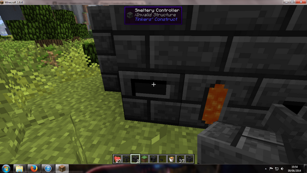 Tinkers' construct smeltery won't smelt - Attack of the B