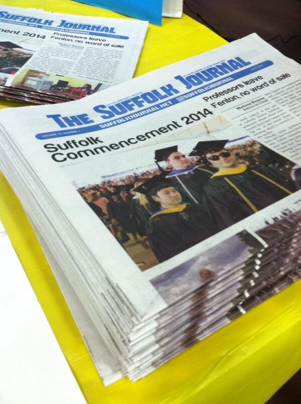 We're ready to go! Come pick up a copy of the student paper #suorientation http://t.co/BGuhDZ0Eju
