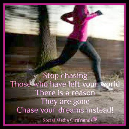 Twitter / SmGirlfriends: Don't chase those who do not ...