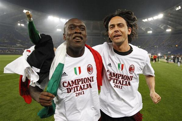 Pippo Inzaghi replaces Clarence Seedorf as AC Milan coach [Best of the Twitter reaction]