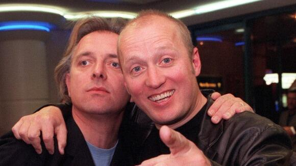 "Adrian Edmondson on Rik Mayall: ""And now he's died for real. Without me. Selfish b*****d"" http://t.co/3AhVLKcB5x http://t.co/4a3mwA9CgJ"