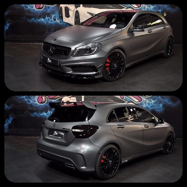 Piero Ms Motors On Twitter Mercedes Classe A45 Amg