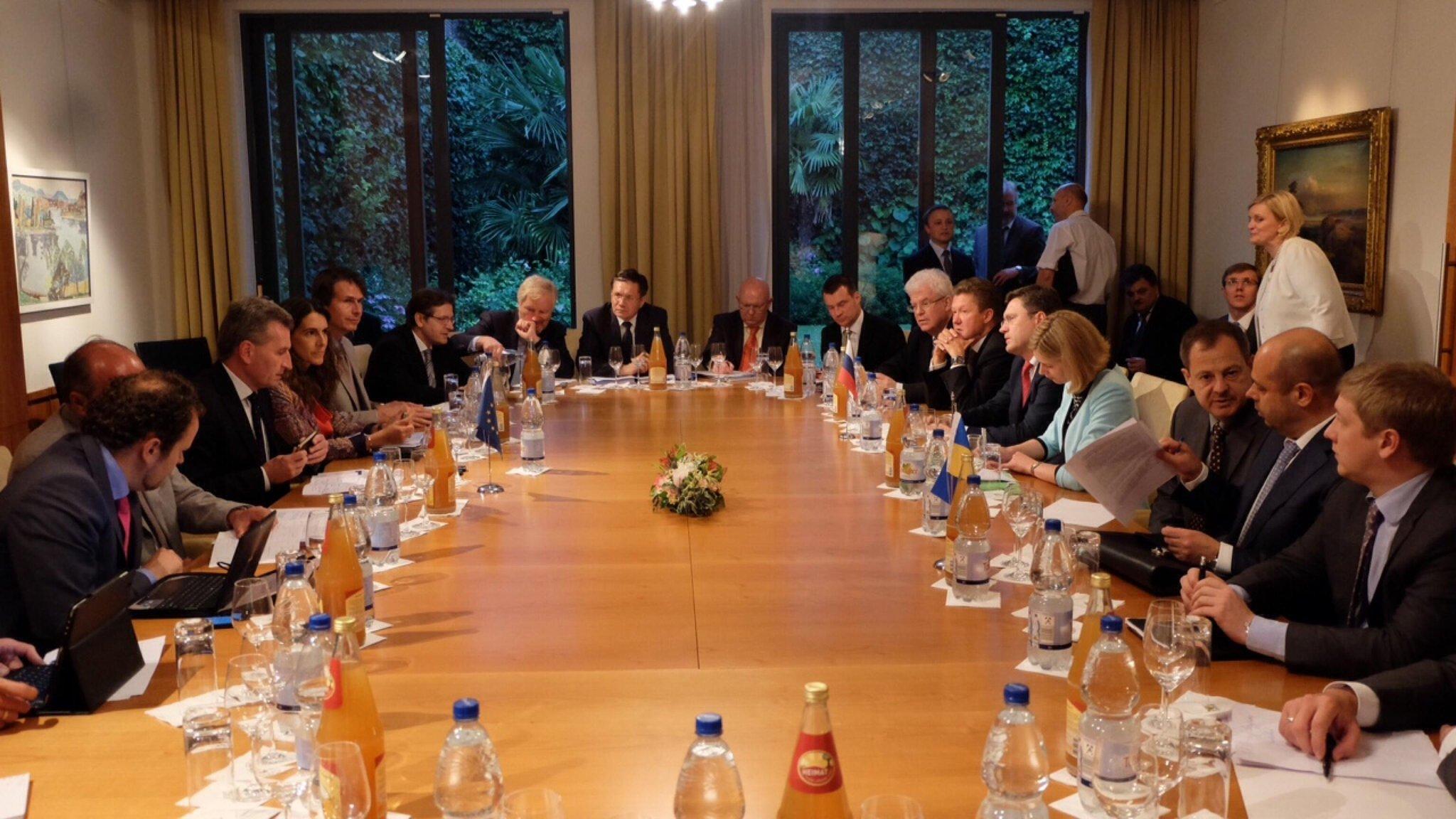 В Брюсселе продолжаются трехсторонние переговоры о газовом кризисе между Украиной и РФ - Цензор.НЕТ 8974