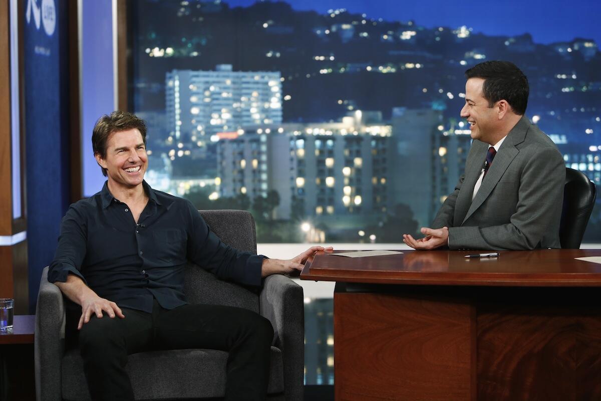 Twitter / TomCruise: Missed me on Jimmy Kimmel Live ...