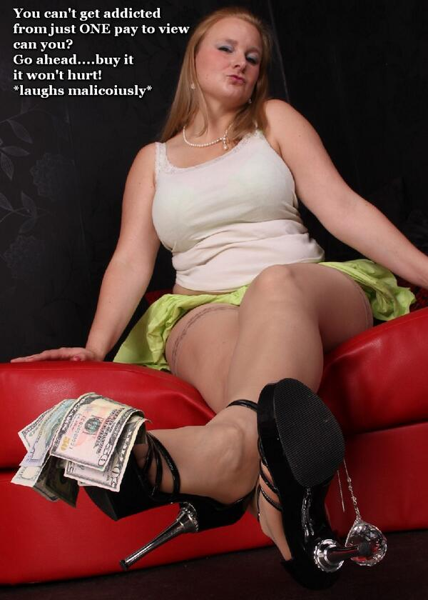 image You are my paypig ashtray slave femdom humiliation