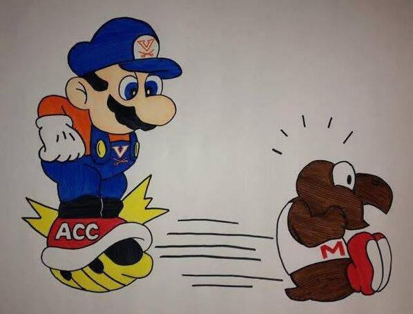 BASEBALL FINAL SCORE: #UVA 11, Maryland 2!! HOOS ADVANCE TO #NCAACWS!!! #WAHOOWA! You're welcome, #ACC! http://t.co/BS7sD8LPjP