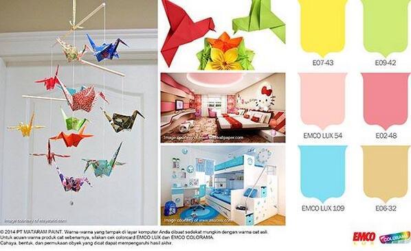 Emco Paint على تويتر Dekorasi Kamar Untuk Anak Yang Murah Meriah Biasajadiluarbiasa Http T Co Ey3rmjwvbx Http T Co O55hkhnqhy